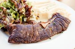 Carne suculenta da carne do bife Imagens de Stock