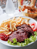 Carne suculenta da carne do bife Fotografia de Stock Royalty Free