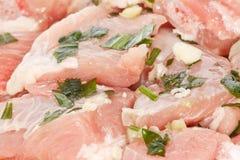 Carne suina Fotografia Stock