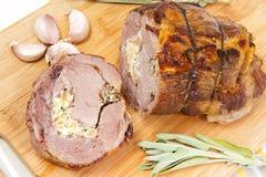 Carne suina cotta Fotografia Stock Libera da Diritti