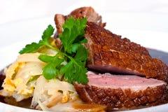 Carne suina croccante Fotografie Stock