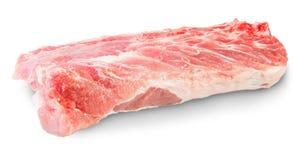 Carne suina cruda Fotografia Stock