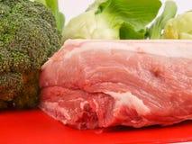 Carne suina fresca Immagini Stock