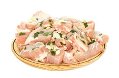 Carne suina fresca Immagini Stock Libere da Diritti