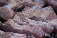 Carne sulla griglia, barbecue Immagine Stock
