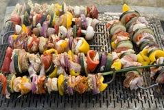 Carne sulla griglia, barbecue Immagine Stock Libera da Diritti