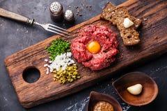 Carne Tartare fotos de stock
