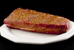 Carne temperada fotos de stock