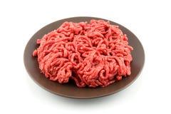 Carne tritata Fotografia Stock
