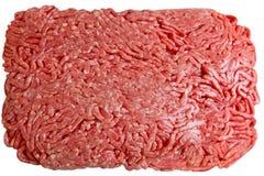 Carne trittata immagine stock