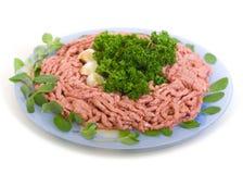 Carne triturada Foto de Stock Royalty Free