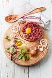 Carne triturada fresca imagem de stock royalty free