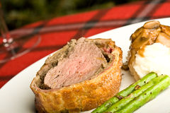 Carne wellington Fotos de Stock Royalty Free