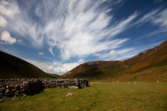 Carneddau Snowdonia Royalty Free Stock Photo
