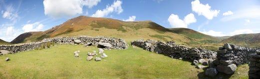 Carneddau Snowdonia Obrazy Royalty Free