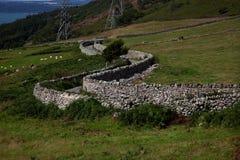 Carneddau Snowdonia foto de archivo