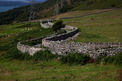 Carneddau Snowdonia Photo stock