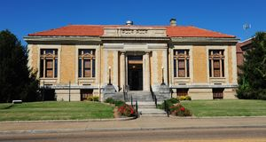 Carnegie Center for Arts and History, Jackson, Tennessee. Stock Photos