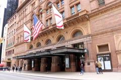Carnegie Hall fotografia de stock