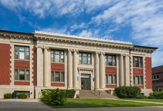 Carnegie Hall on the campus of Grinell College Royalty Free Stock Photo