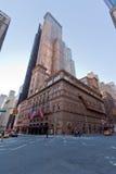 Carnegie Hall en New York City Imágenes de archivo libres de regalías