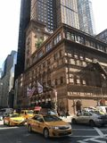 Carnegie Hall, Manhattan, NYC stock photography