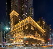 Carnegie Hall in New York Royalty Free Stock Image