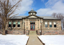 Carnegie Library, Howell Michigan royalty free stock photography
