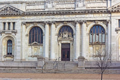 The Carnegie Library at Mt. Vernon Square in Washington DC. Stock Image