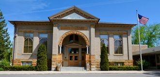 A Carnegie Library Royalty Free Stock Image