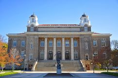 Syracuse University, Syracuse, New York, USA. Carnegie Library was built in 1905 in Syracuse University, Syracuse, New York State, USA royalty free stock photography