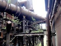 Carnegie ` s stalownia w Pittsburgh, Pennsylwania Zdjęcia Stock