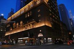 Carnegiezaal, de Stad van Manhattan, New York stock foto