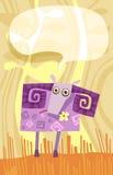 Carneiros ilustração royalty free