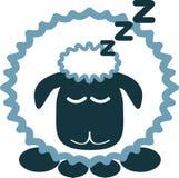Carneiros adormecidos Imagens de Stock Royalty Free