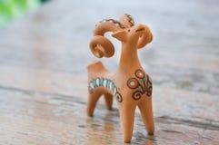 carneiros da estatueta da argila Imagens de Stock