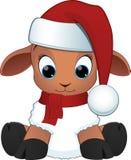 Carneiros do bebê dos desenhos animados Fotos de Stock Royalty Free