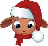 Carneiros do bebê dos desenhos animados Fotografia de Stock Royalty Free