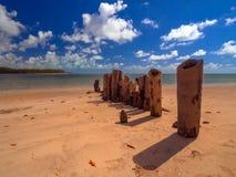 Carneiros strand Arkivfoton