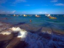 Carneiros strand Arkivbilder