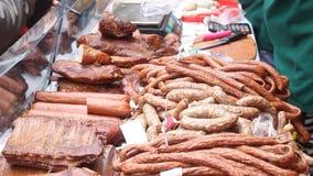 Carnes fumado vídeos de arquivo