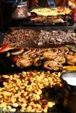 Carnes grelhadas Imagem de Stock