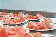 Carnes na bandeja Imagem de Stock Royalty Free