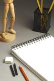Carnet à dessins Photographie stock libre de droits