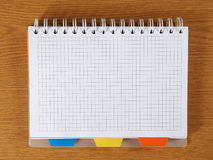 Carnet de notes à spirale Image stock