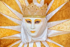 Carneval mask in Venice - Venetian Costume Stock Images