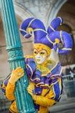 Carneval mask in Venice - Venetian Costume Royalty Free Stock Photo
