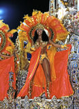 Carneval in Rio de Janeiro. Samba dancer with the Carneval in Rio de Janeiro, Brazil, South America 11. March 2000 Stock Images