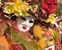 Carneval Schablone Lizenzfreie Stockfotografie