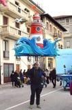 Carnevale二维亚雷焦2016年 库存图片